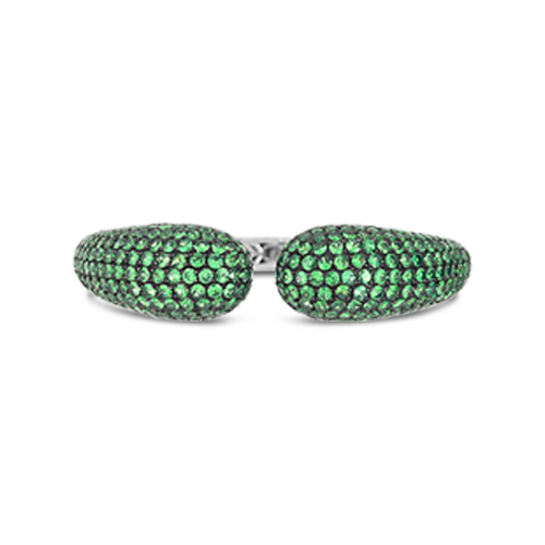 Tsavorite Bangle Bracelet