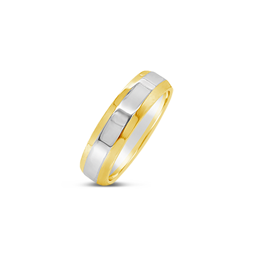 Double Gold Wedding Band