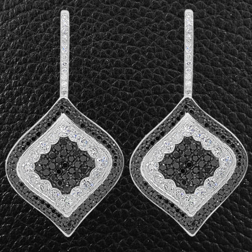 Black & White Diamond Earrings