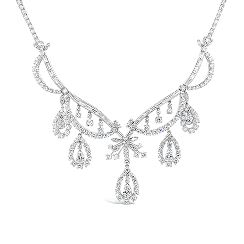 Diamond J.E. Caldwell Estate Necklace
