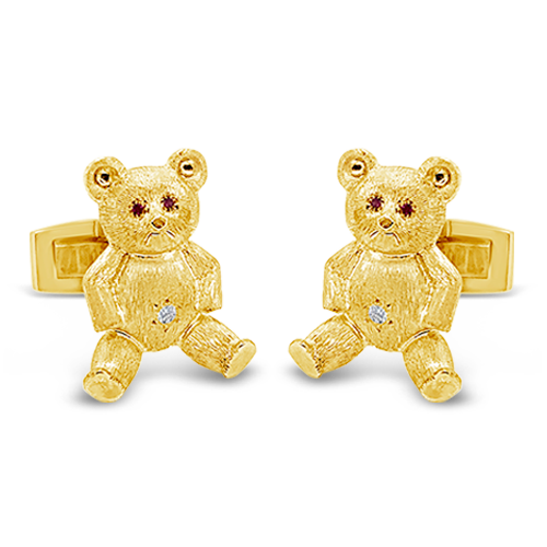 Teddy Bear Cufflinks