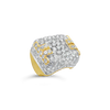 Diamond Hammerman Estate Ring