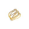 Diamond Stack Look Ring