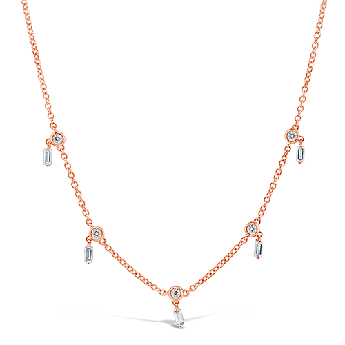 Diamond Dangle Necklace