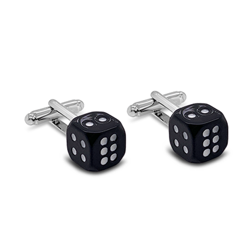 Pair of Dice Cufflinks