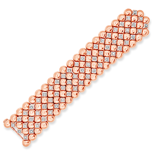 Rose Gold & Diamond Estate Bracelet