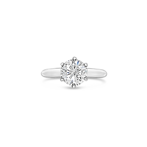 Tiffany Estate Solitaire Engagement Ring