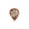 Fancy Deep Brown Diamond Ring