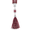 Ruby & Diamond Tassel Necklace