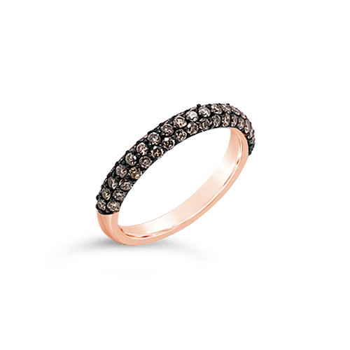 Brown Diamond Band Ring