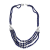 Sapphire Bead Cartier Estate Necklace