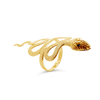 Gold Estate Snake Bracelet