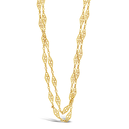 Antique French Chain Necklace