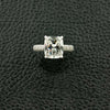 Cushion cut Diamond Ring with Micro Pave Setting