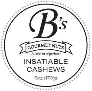 Bretts Insatiable Cashews