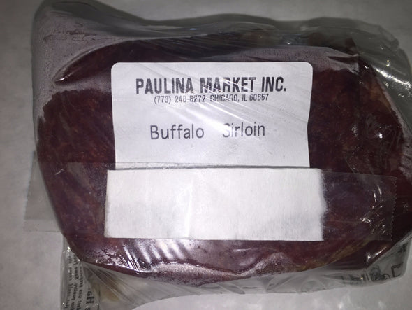 Buffalo/Bison Sirloin Steak Boneless