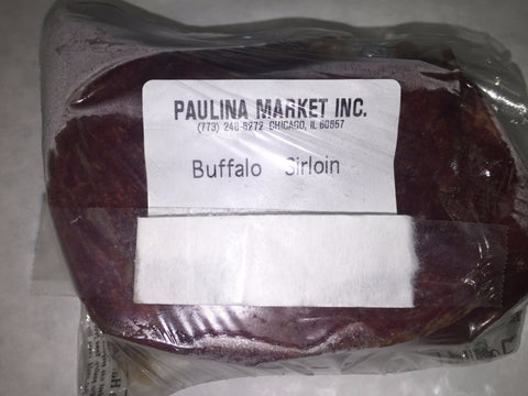 Buffalo Sirloin Steak Boneless