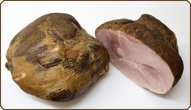 Fully Cooked, Smoked Bone-in Ham - Half