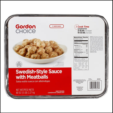 Swedish Meatballs in Sauce