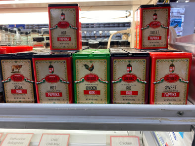 Szeged seasonings