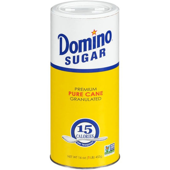 Sugar (Domino-Pure cane, granulated)
