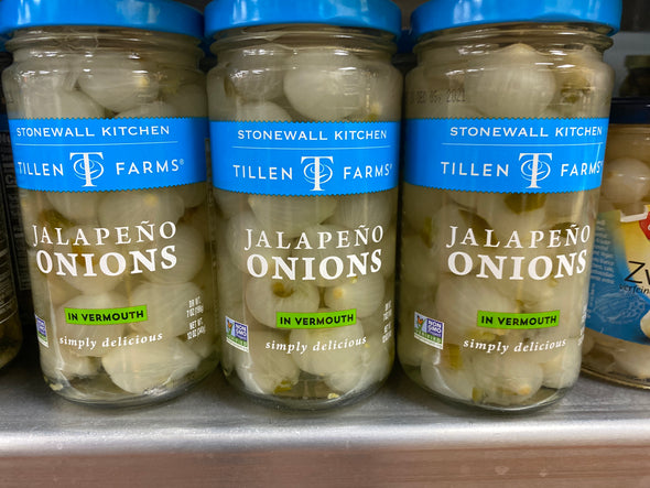 Jalapeno Onions in Vermouth