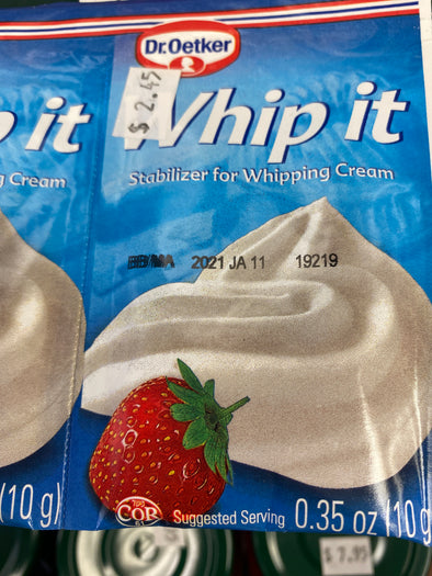 "Stabilizer ""whip it"""