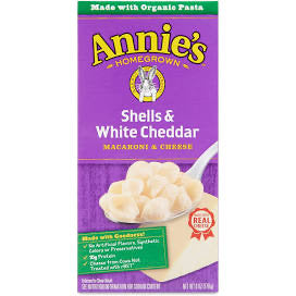 Annies Shells and White Cheddar
