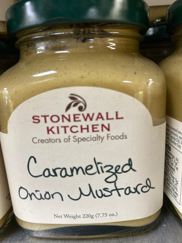 Carmelized onion mustard