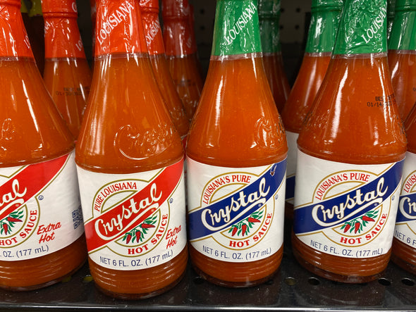 Crystal hot sauce