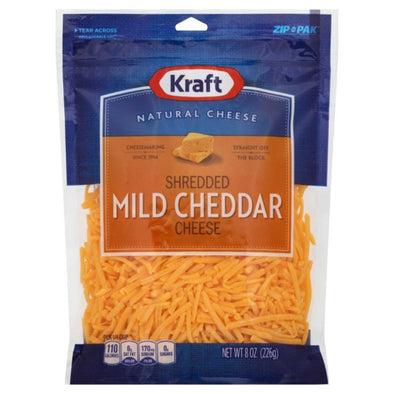 Shredded Cheeses