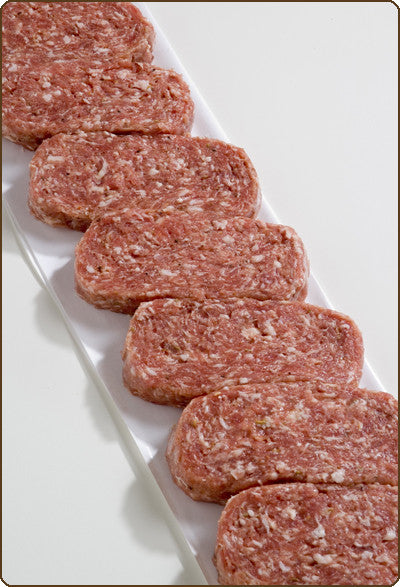 Mild Italian Sausage Patties (Torpedoes)