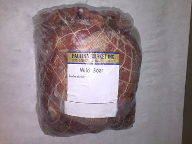 Wild Boar Boneless Shoulder