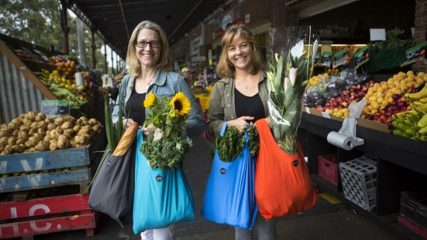 Jack+Jules, South Melbourne Market, reusable shopping bags, sustainable bags