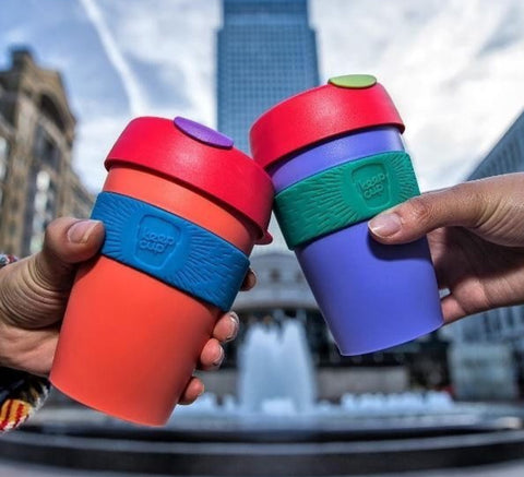 Keep Cup sustainable reusable coffee cups