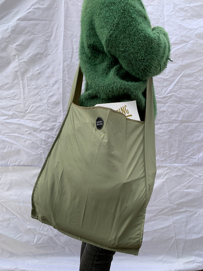 NEW- Shoulder Strap bag- Khaki