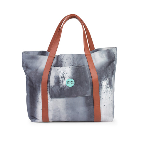 All-rounder everyday tote bag in southern sky grey