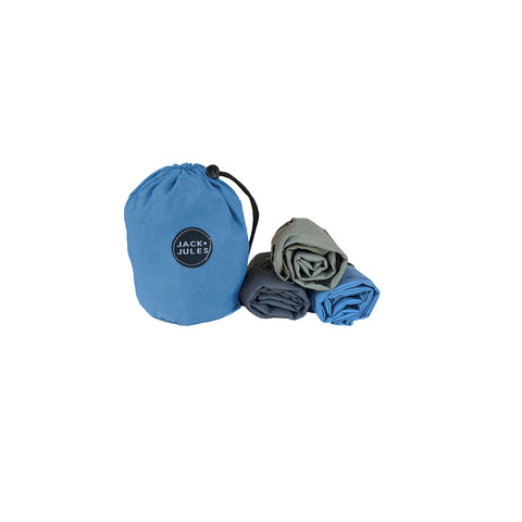 Three-Pack Market Bag Set - Marine
