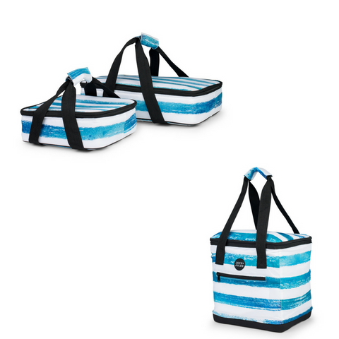 PARTY TIME SET IN REEF BLUE STRIPE