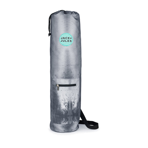 Namaste yoga mat bag in southern sky grey