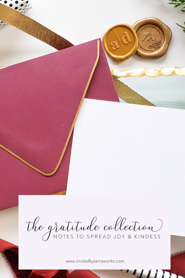 The Gratitude Collection - Coming soon!