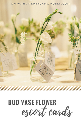 Wedding Escort Cards or Place Cards - Invited by LamaWorks