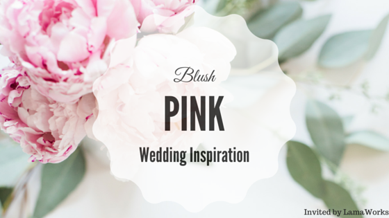 LamaWorks Blush wedding inspiration