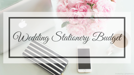LamaWorks Wedding Stationery Budget Blog
