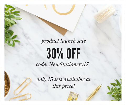 March Stationery Sale