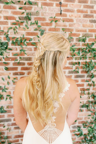 long wedding hair down