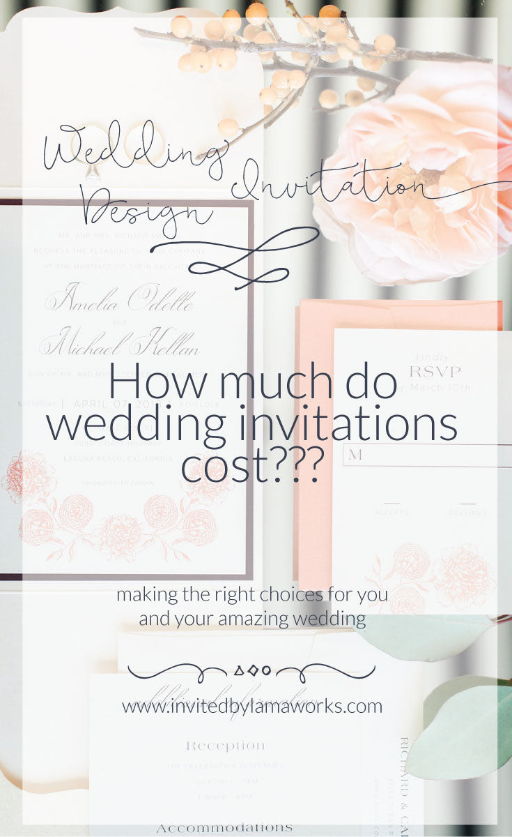 6 Factors To Consider In Your Wedding Invitation Budget Invited By