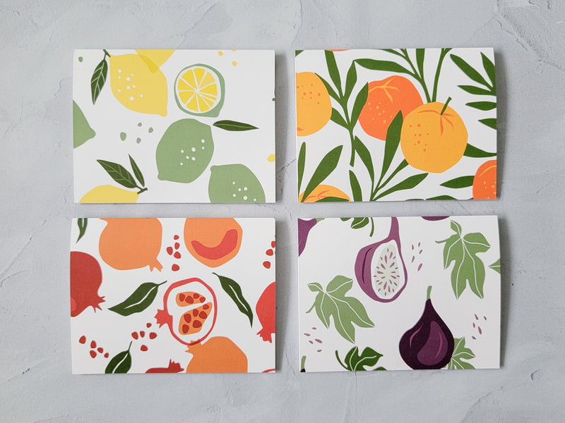 Fig Gift Set - Notepad and Cards