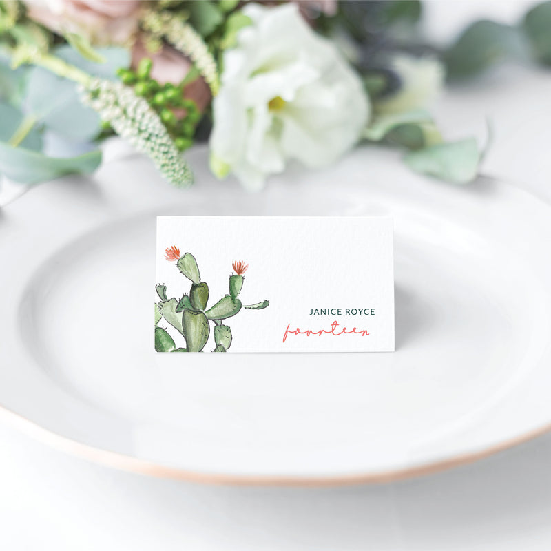 Blake | Escort Card | Place Card