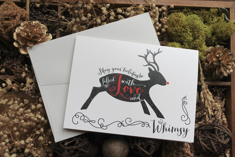 Reindeer Love and Whimsy